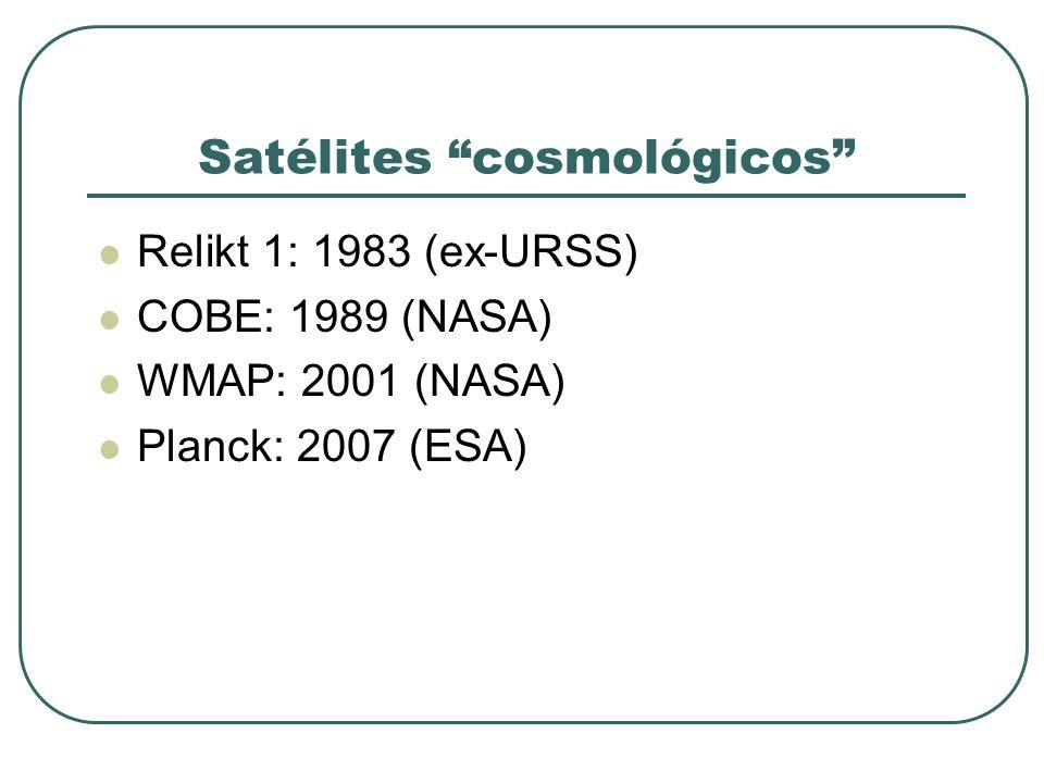 Satélites cosmológicos