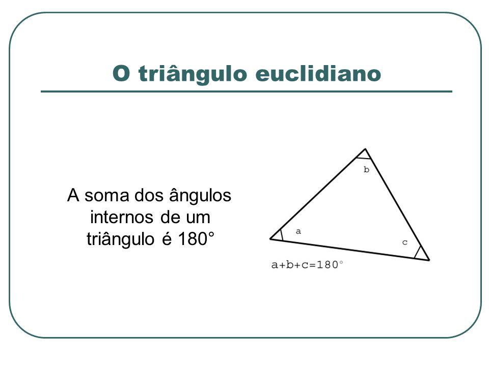 O triângulo euclidiano