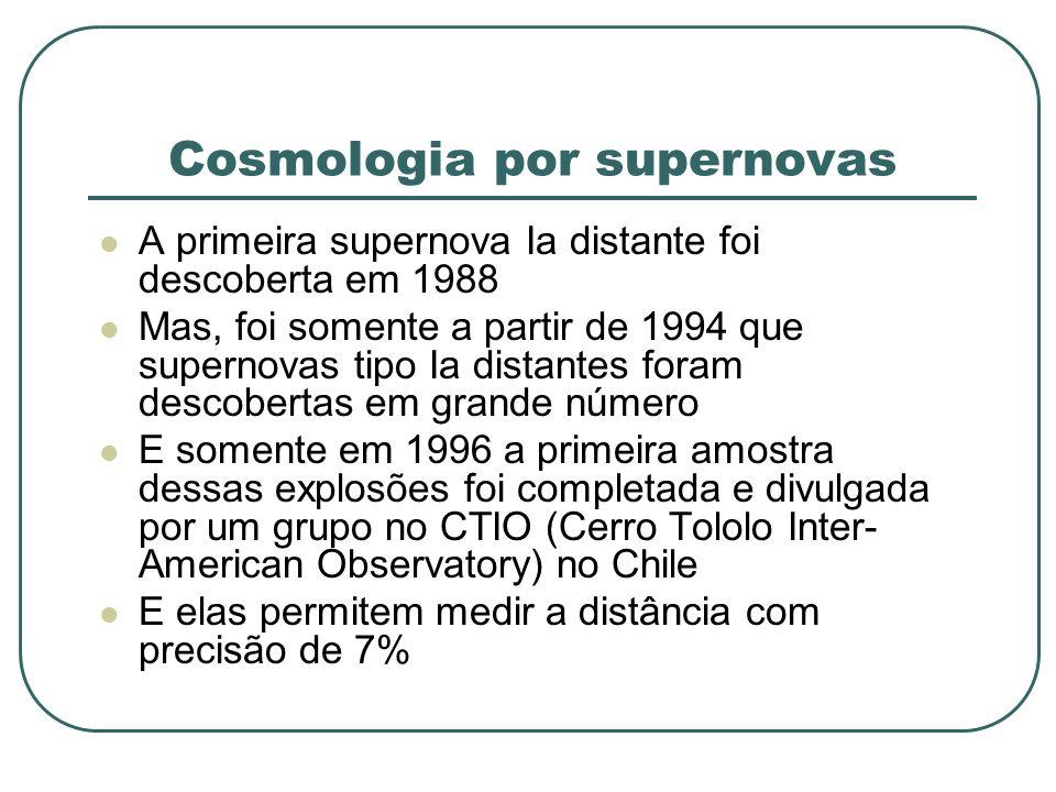 Cosmologia por supernovas