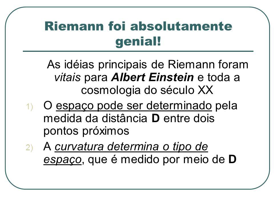 Riemann foi absolutamente genial!