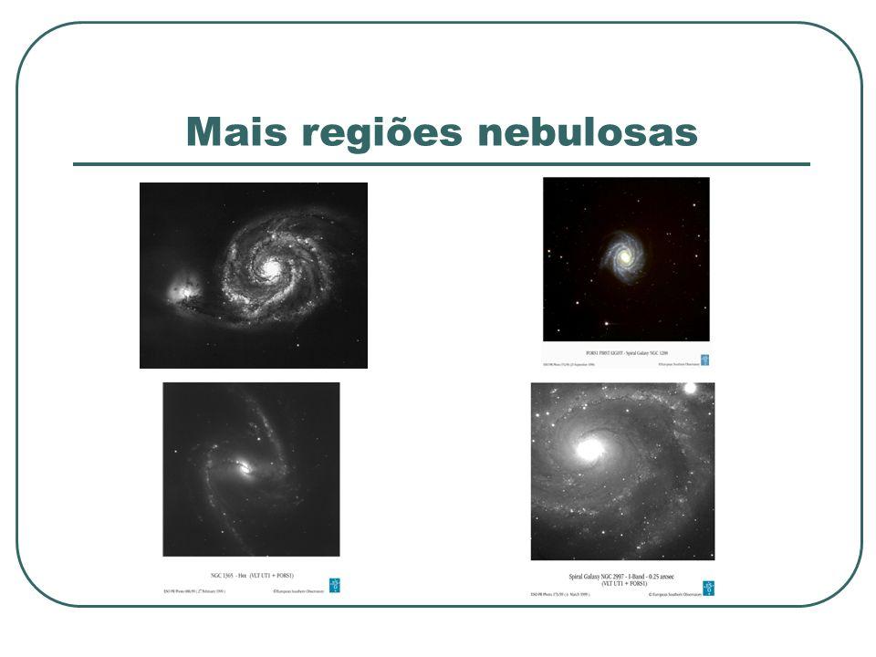 Mais regiões nebulosas