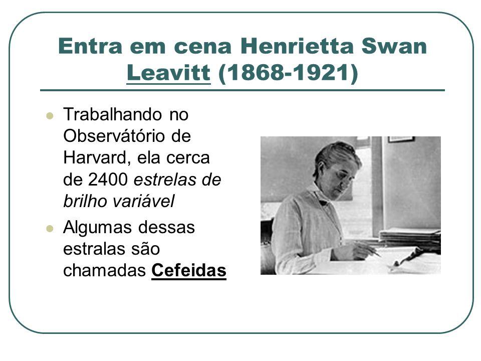 Entra em cena Henrietta Swan Leavitt (1868-1921)