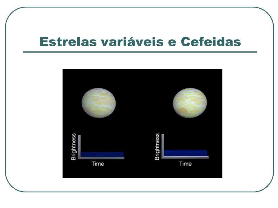 Estrelas variáveis e Cefeidas
