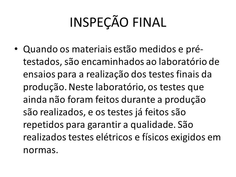 INSPEÇÃO FINAL