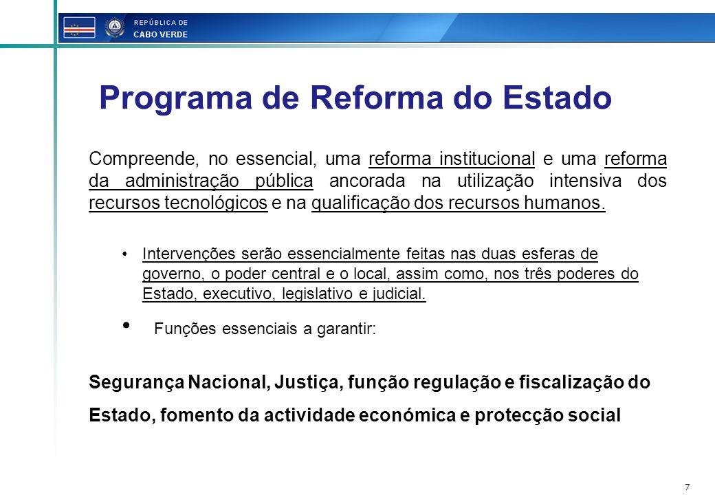 Programa de Reforma do Estado