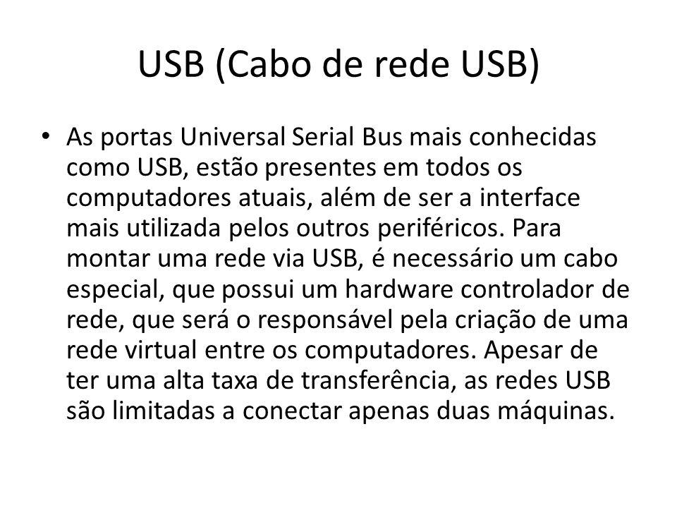 USB (Cabo de rede USB)