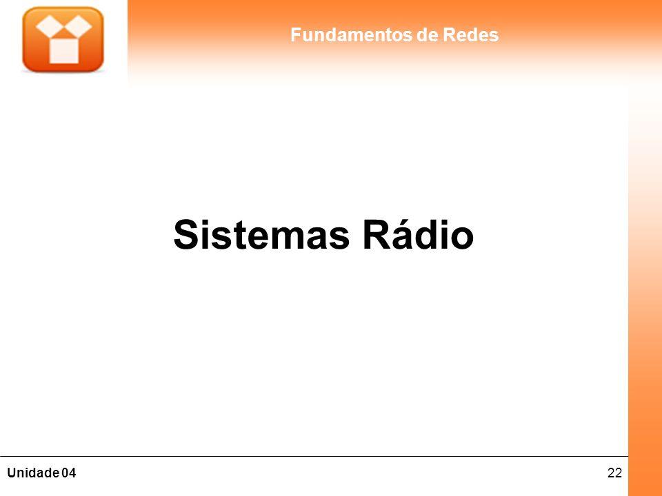 Sistemas Rádio