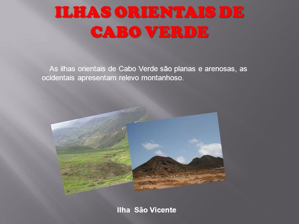 ILHAS ORIENTAIS DE CABO VERDE