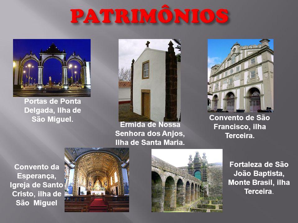 PATRIMÔNIOS Portas de Ponta Delgada, Ilha de São Miguel.
