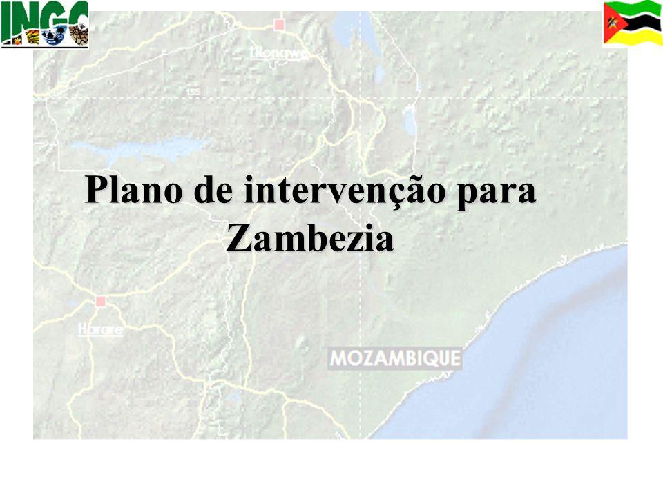 Plano de intervenção para Zambezia