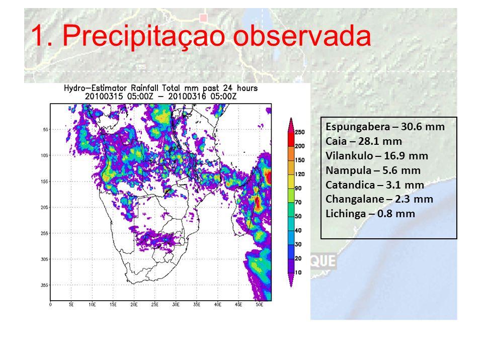 1. Precipitaçao observada