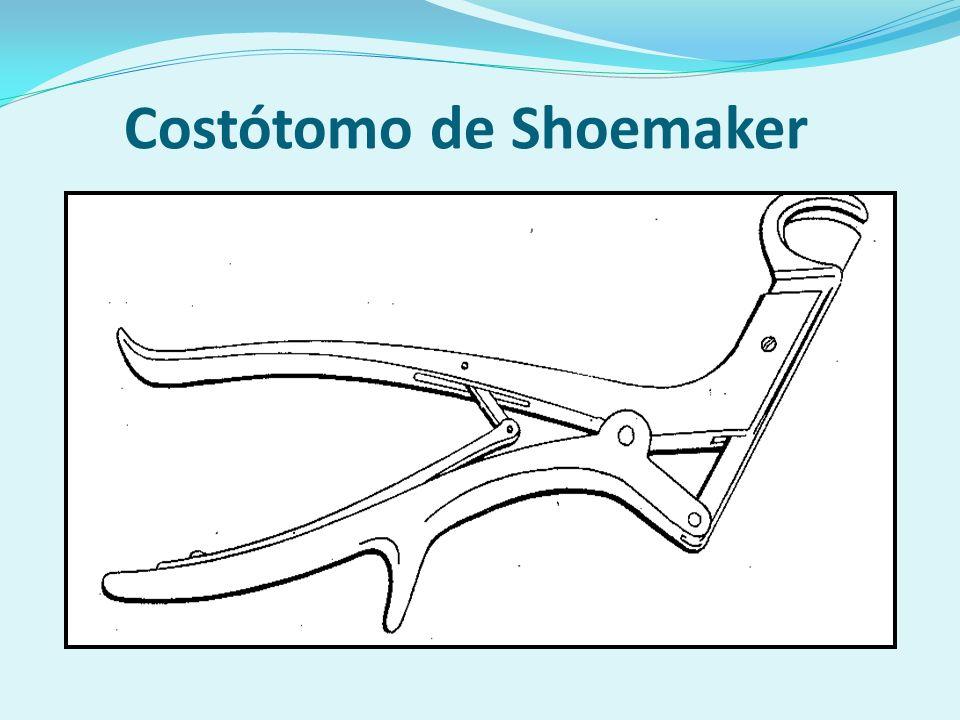Costótomo de Shoemaker