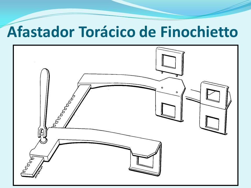 Afastador Torácico de Finochietto