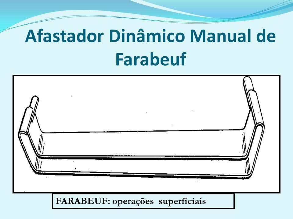 Afastador Dinâmico Manual de Farabeuf