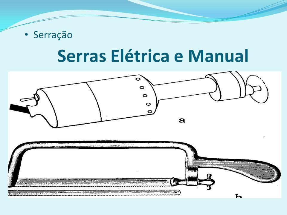 Serras Elétrica e Manual