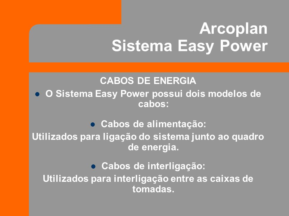 Arcoplan Sistema Easy Power