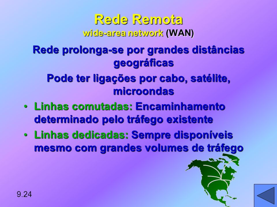 Rede Remota wide-area network (WAN)