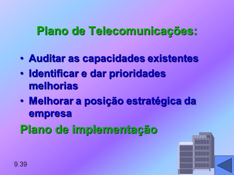 Plano de Telecomunicações: