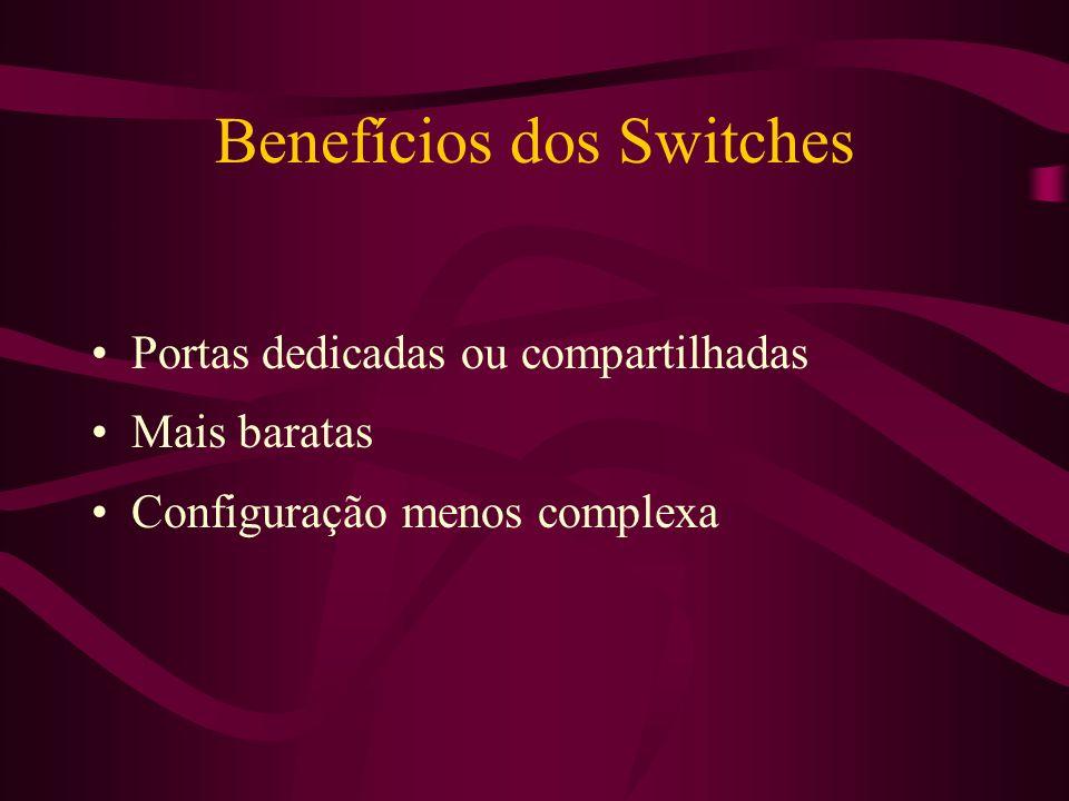 Benefícios dos Switches