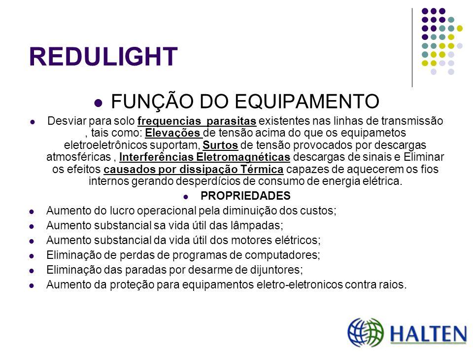 REDULIGHT FUNÇÃO DO EQUIPAMENTO