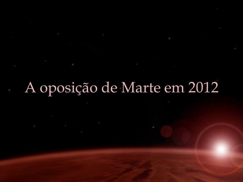 A oposição de Marte em 2012
