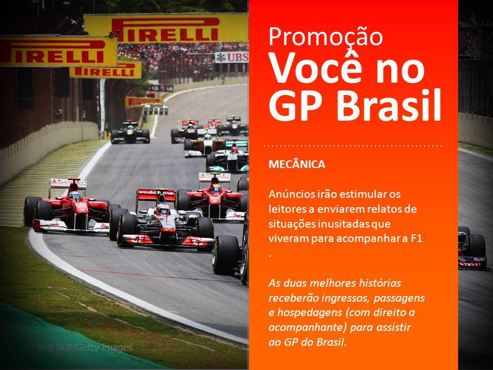 Você no GP Brasil Promoção MECÂNICA