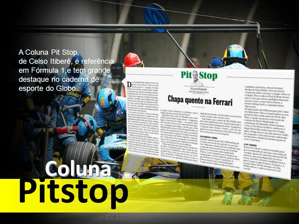 Pitstop Coluna A Coluna Pit Stop,