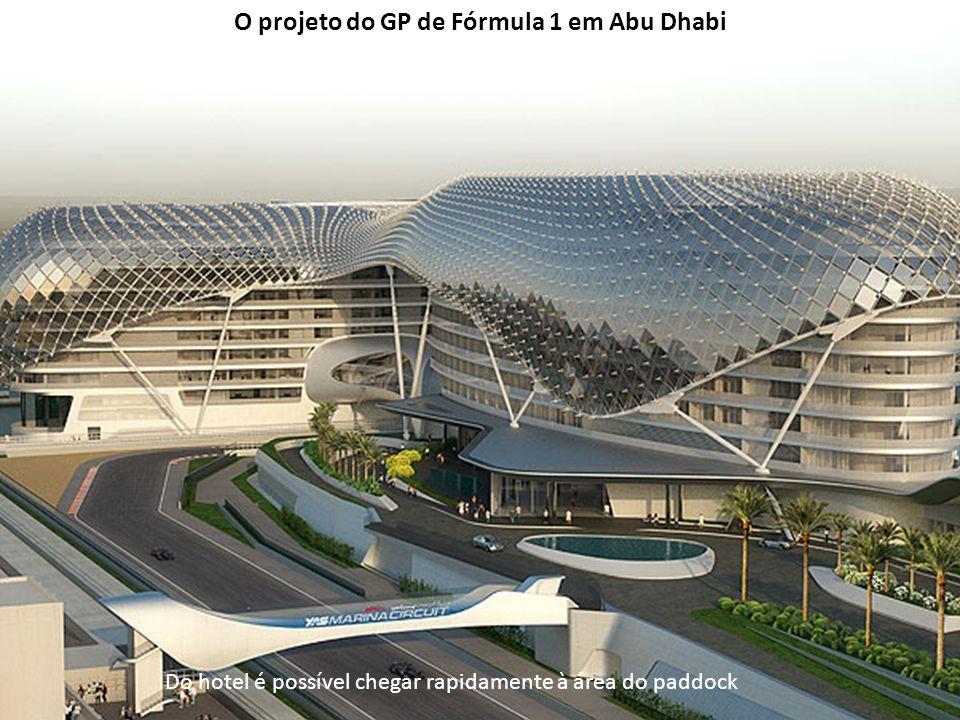O projeto do GP de Fórmula 1 em Abu Dhabi
