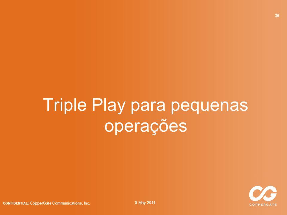 Triple Play para pequenas operações