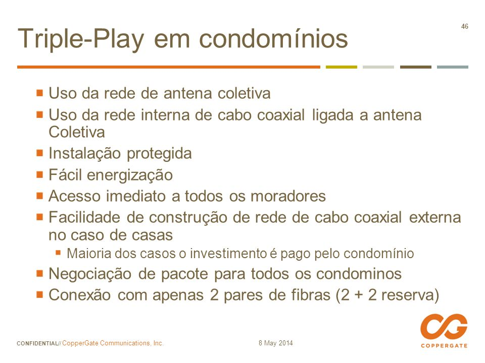 Triple-Play em condomínios