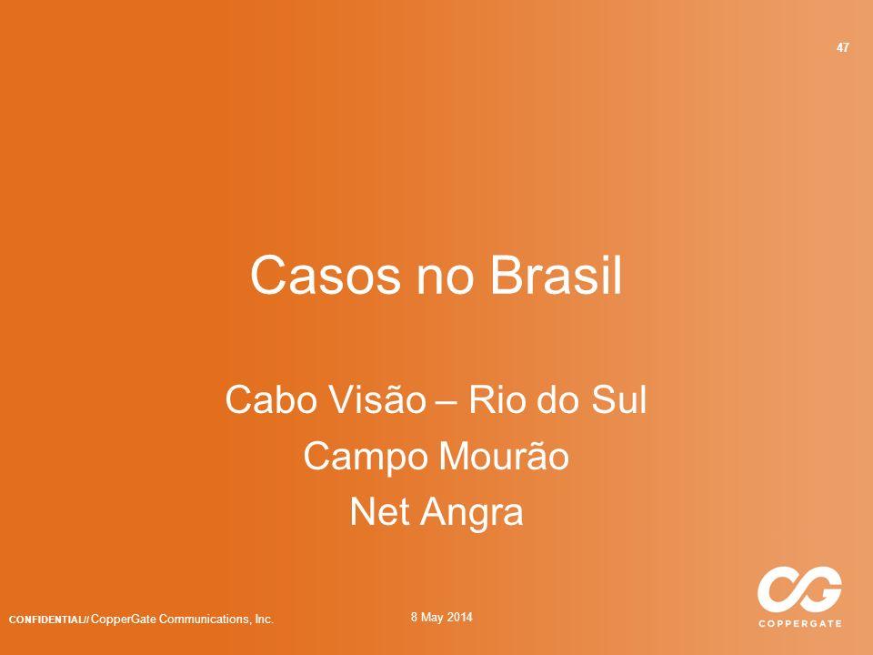 Cabo Visão – Rio do Sul Campo Mourão Net Angra