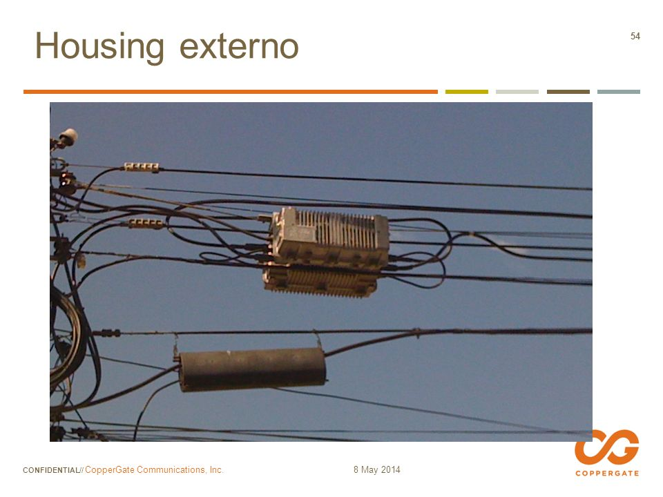Housing externo