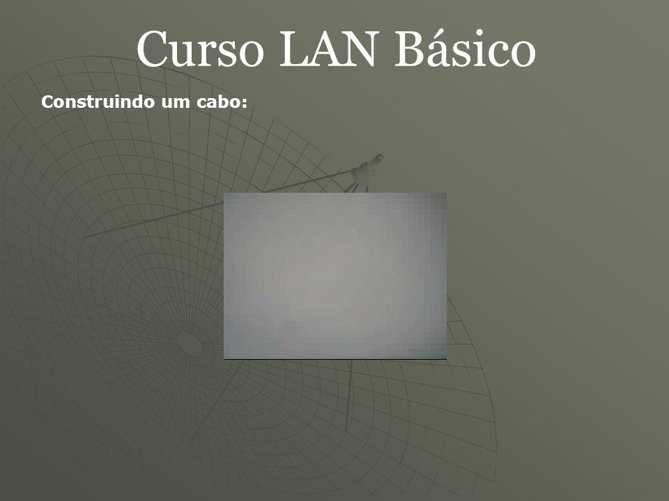 Curso LAN Básico Construindo um cabo: