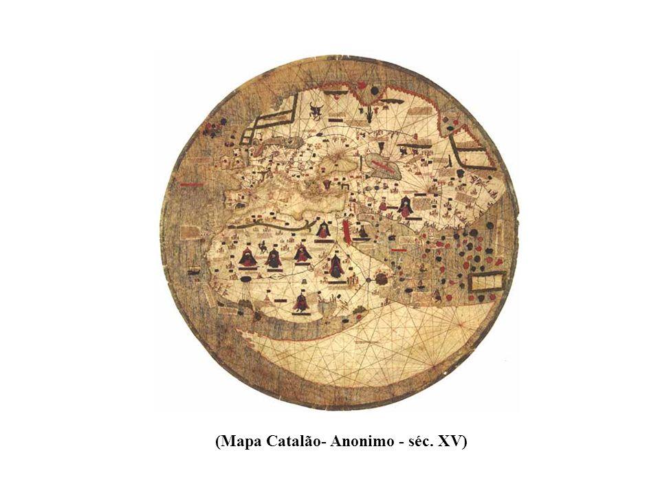 (Mapa Catalão- Anonimo - séc. XV)