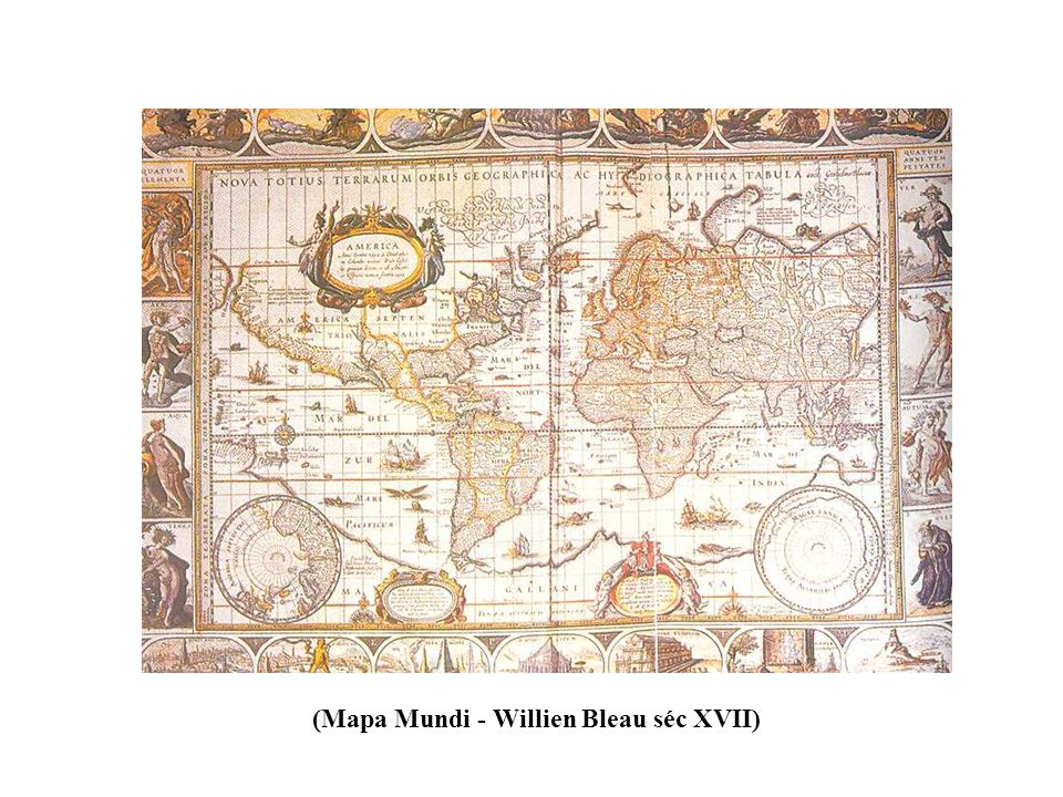(Mapa Mundi - Willien Bleau séc XVII)