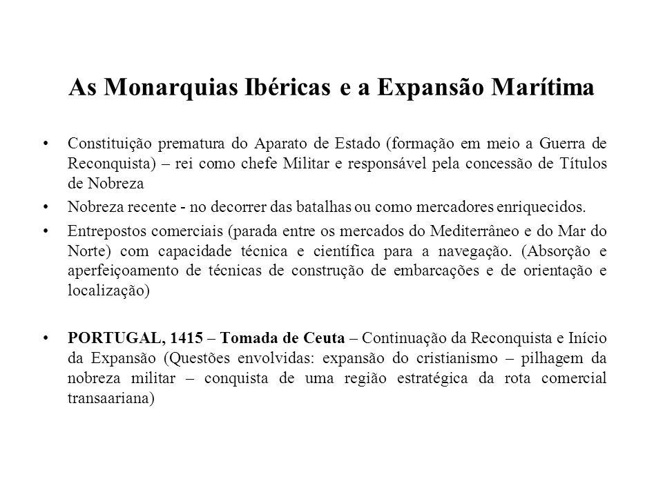 As Monarquias Ibéricas e a Expansão Marítima