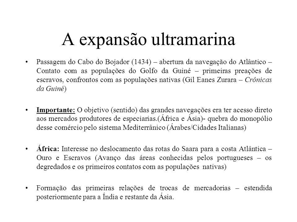 A expansão ultramarina