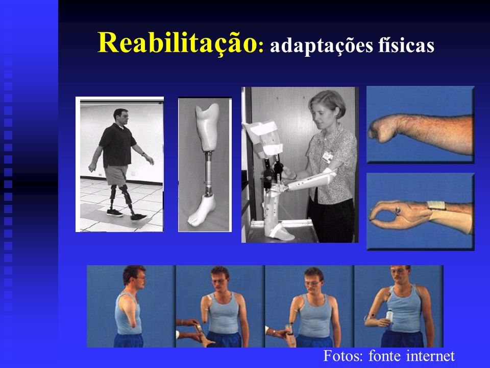 Reabilitação: adaptações físicas