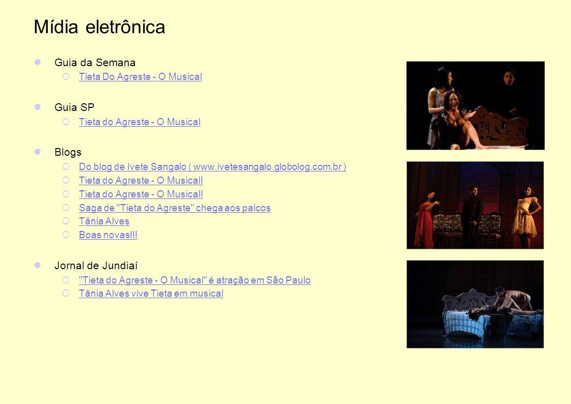 Mídia eletrônica Guia da Semana Guia SP Blogs Jornal de Jundiaí