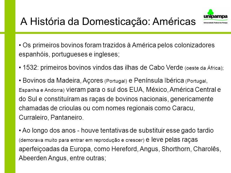 A História da Domesticação: Américas