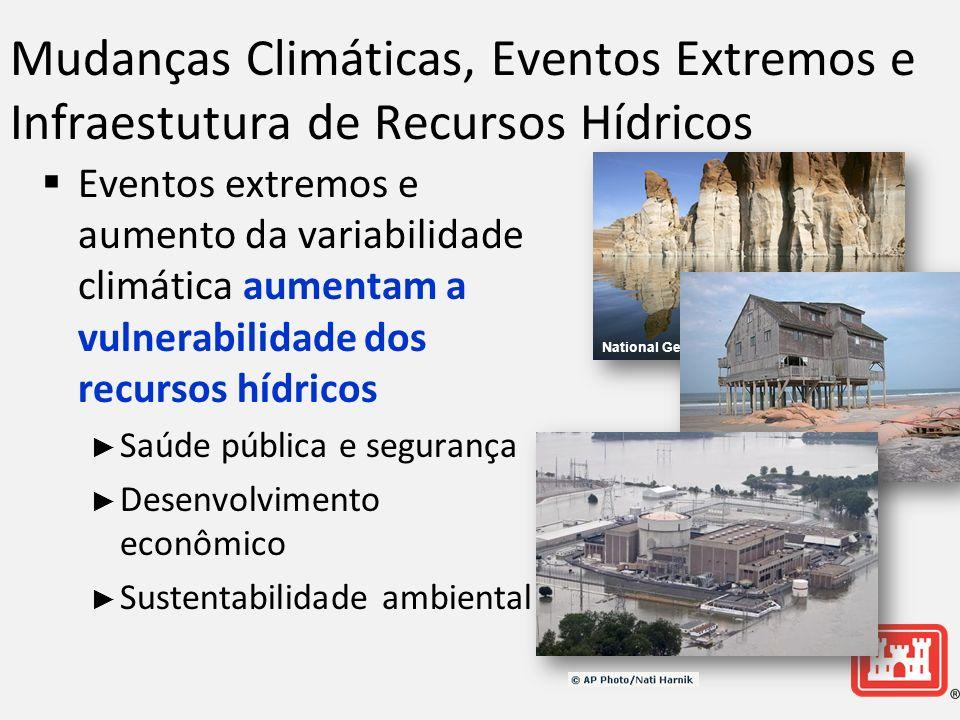 Mudanças Climáticas, Eventos Extremos e Infraestutura de Recursos Hídricos