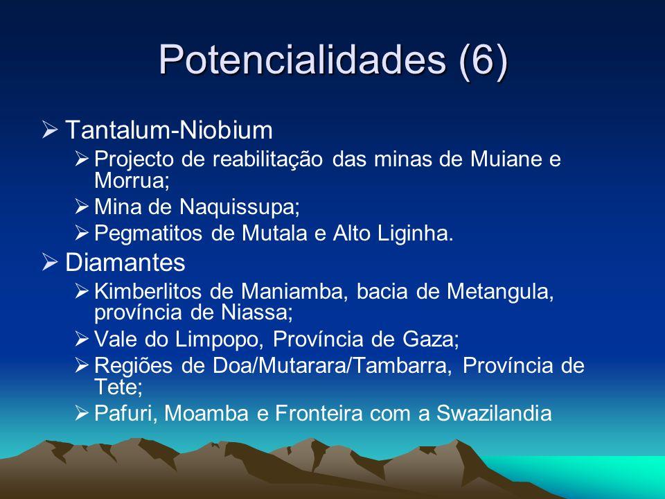 Potencialidades (6) Tantalum-Niobium Diamantes