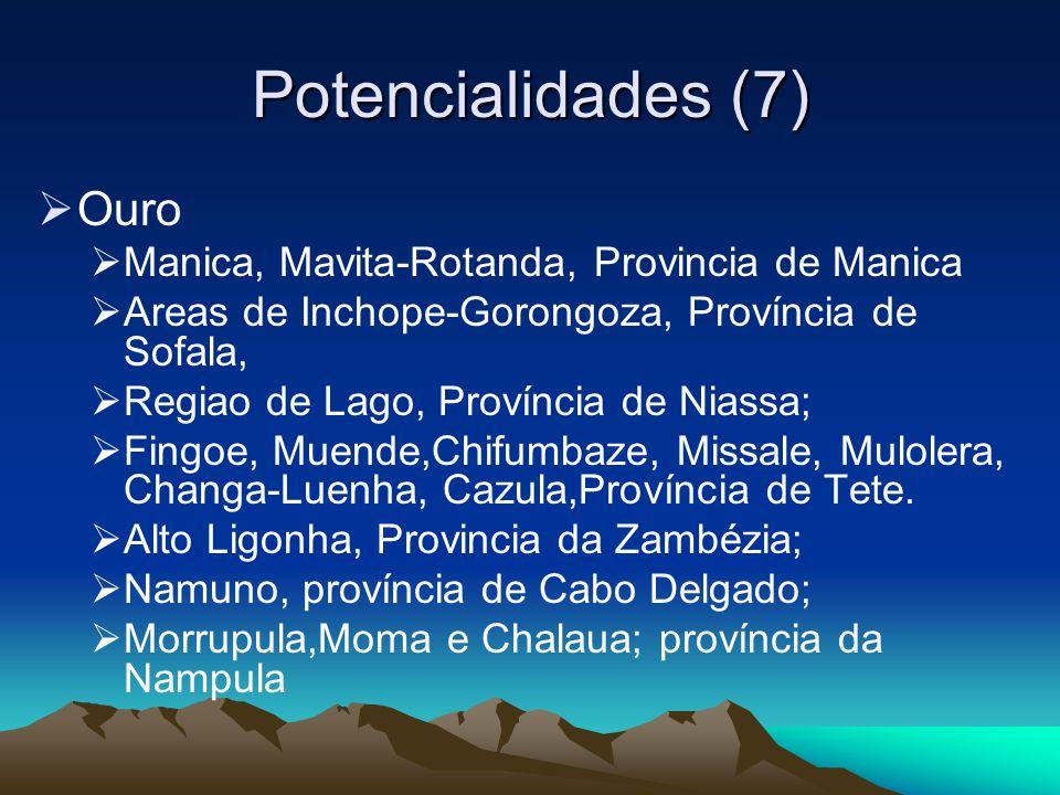 Potencialidades (7) Ouro Manica, Mavita-Rotanda, Provincia de Manica