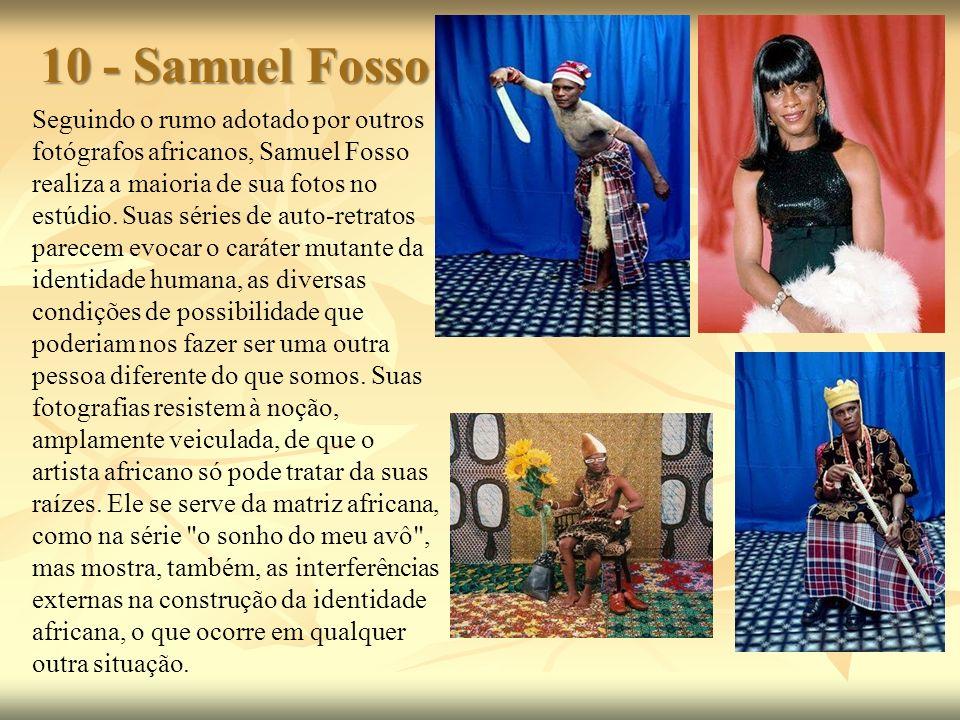 10 - Samuel Fosso