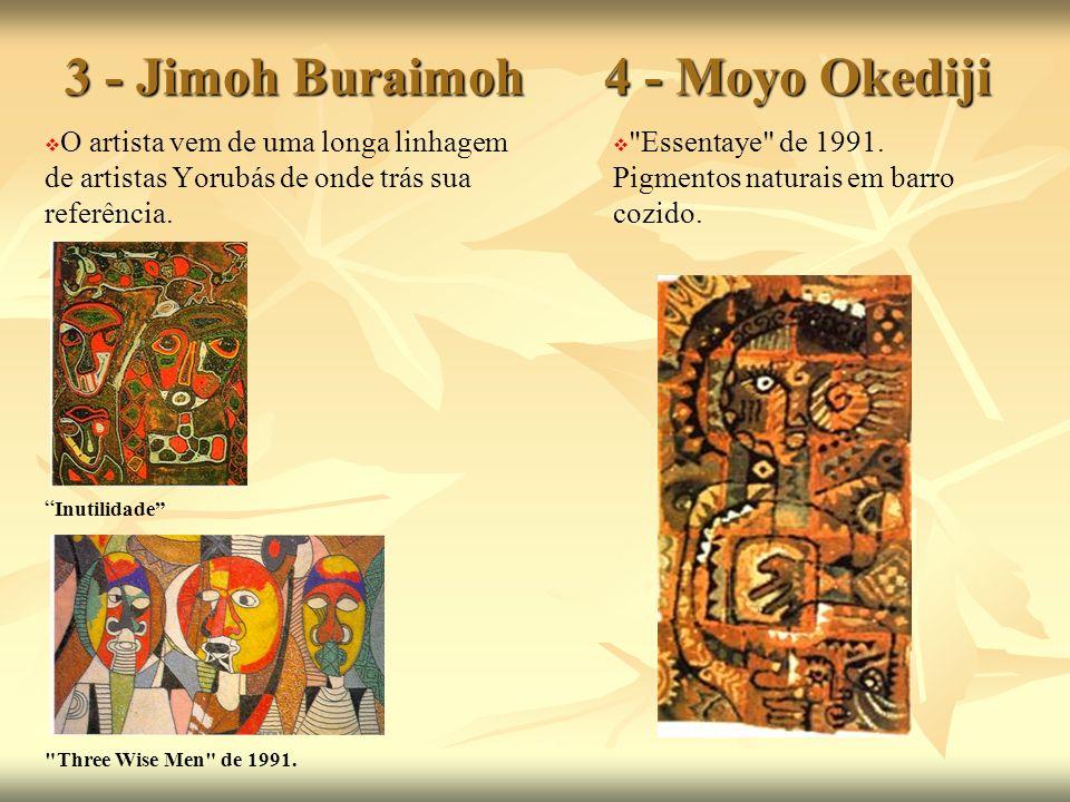 3 - Jimoh Buraimoh 4 - Moyo Okediji