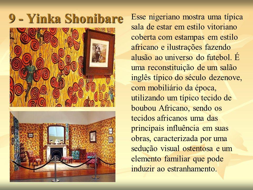 9 - Yinka Shonibare