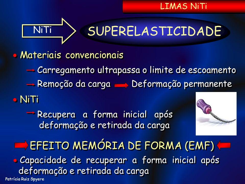 EFEITO MEMÓRIA DE FORMA (EMF)