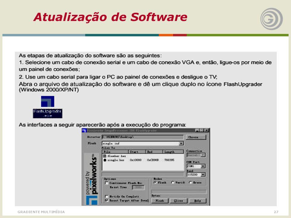 Atualização de Software