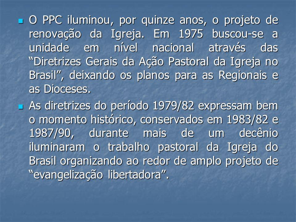 O PPC iluminou, por quinze anos, o projeto de renovação da Igreja