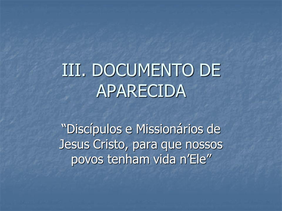 III. DOCUMENTO DE APARECIDA
